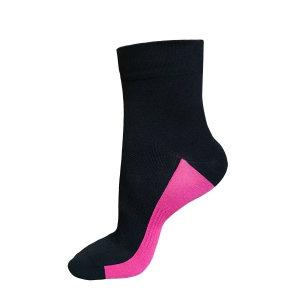 Funkier Airflow II Summer Socks in Black/Pink