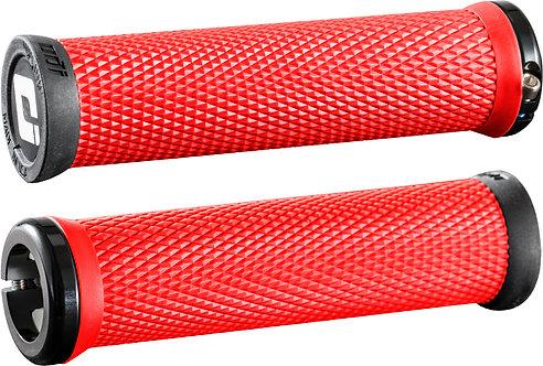 ODI Elite Motion MTB Lock On Grips 130mm RED