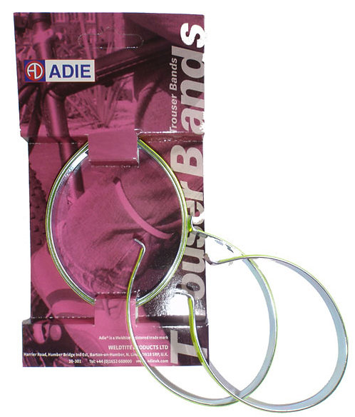 Adie PVC Covered Trouser Bands in Yellow