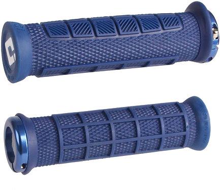 ODI Elite Pro MTB Lock On Grips 130mm - Navy Blue