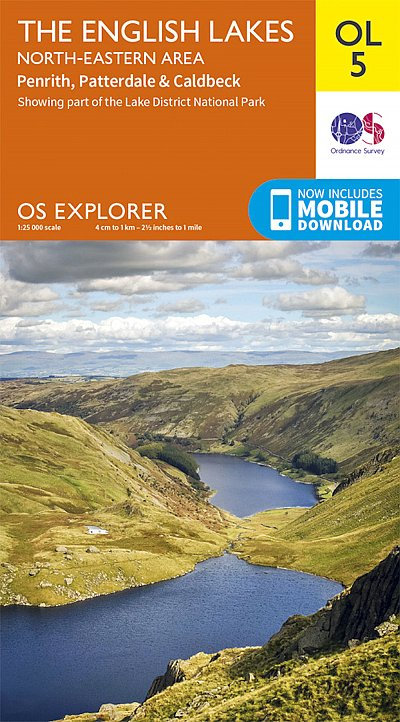 The English Lakes - North Eastern area OS Explorer Map OL5