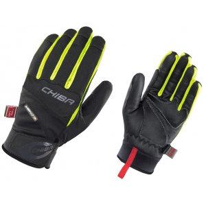 Chiba Tour Plus Windstopper Glove in Black/Neon Yellow