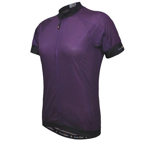 Funkier Ibera Ladies Active S/S Jersey in Purple