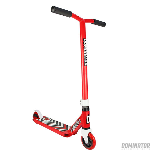 Dominator Scout Complete Scooter Red/ Red