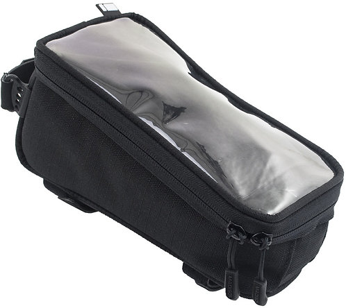 Madison TT20 top tube bag with phone window and stealth cable port