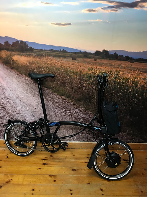 Brompton Electric Bike M6L - 6 Speed