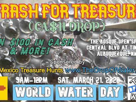 TRASH FOR TREASURE - (CASH DROP)