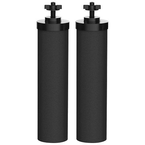 AquaCrest Replacement for Berkey BB9-2 Black Purification Elements (Set of 2)