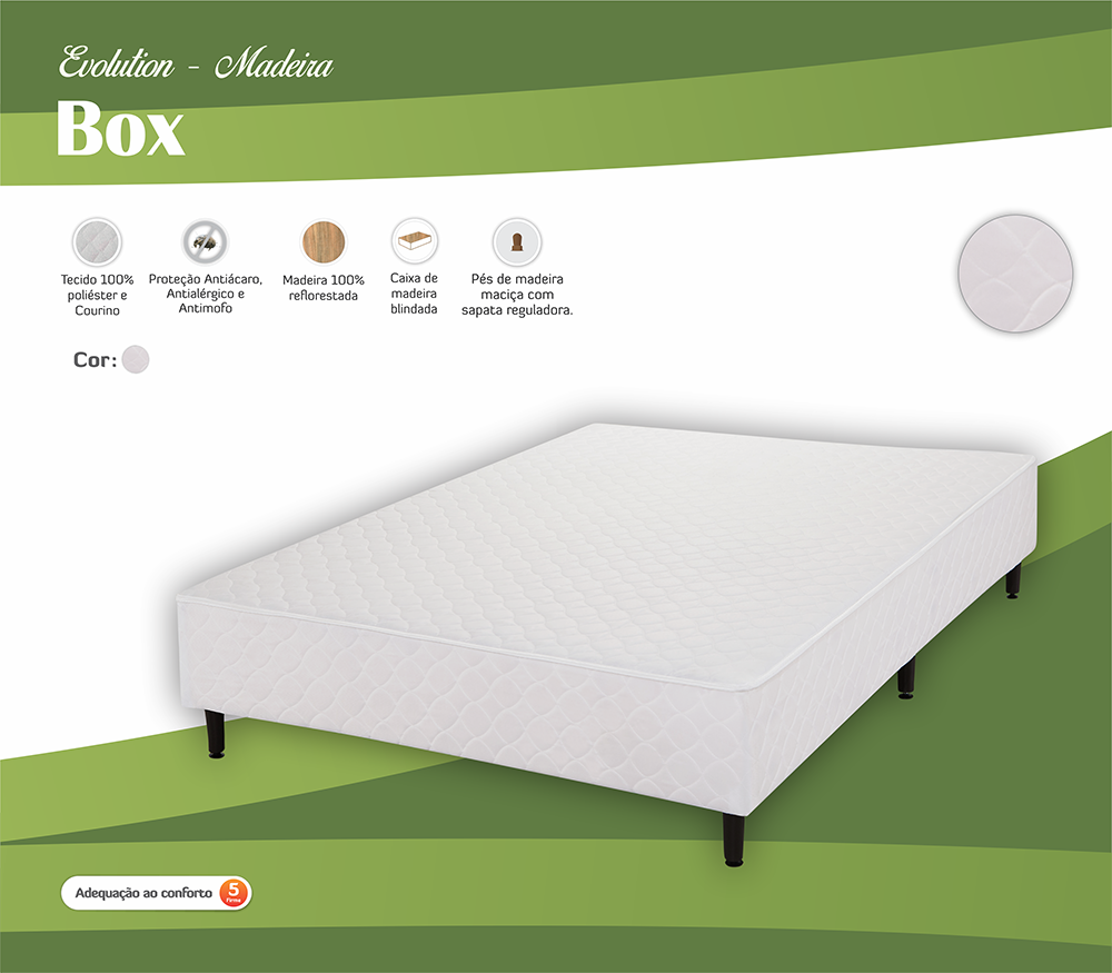 BOX ECOPEDIC BRANCO