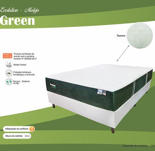 COLCHÃO GREEN LATEX POCKET