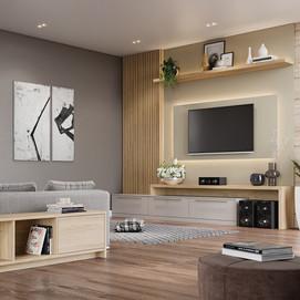 Sala de Tv Planejada Rimo