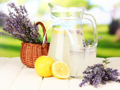 Is it summer yet??  How to make Lavender Lemonade.