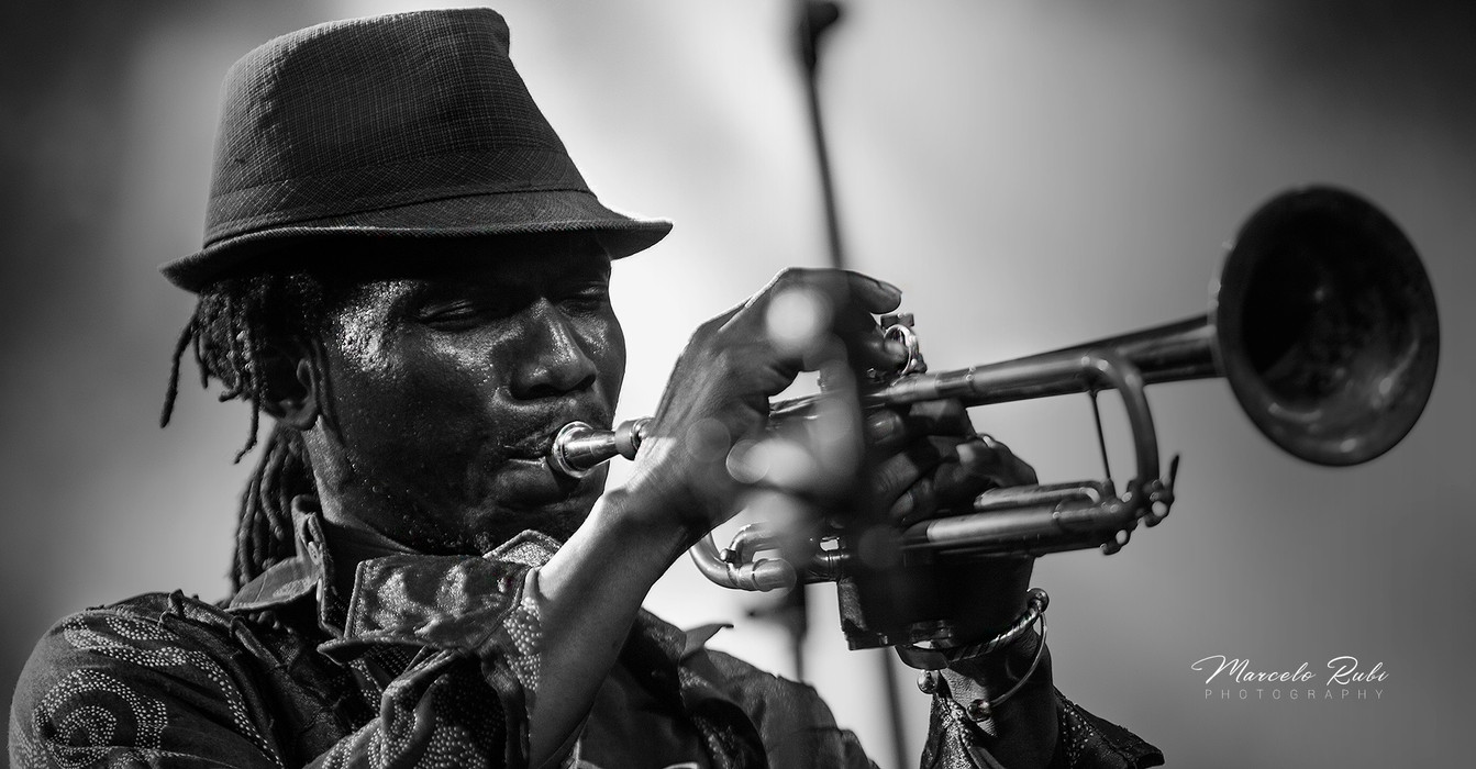 A great trumpet...