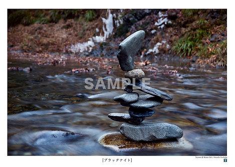 ブラックナイト A4サイズ 写真作品