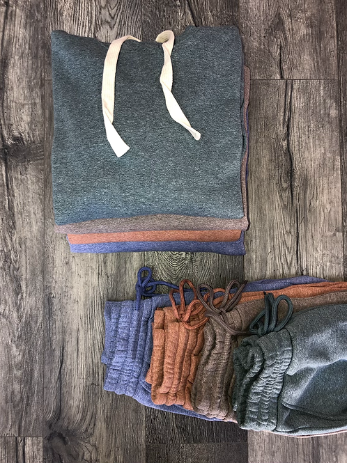 Relaxed Hoodie Set