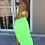 Thumbnail: Camille Neon Skirt Set