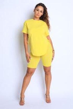 Basic Short Set (Yellow)