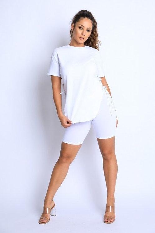 Basic Short Set (White)