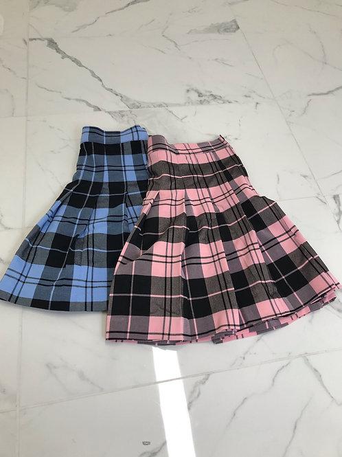 Plaid Skater Skirt