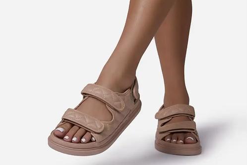 Power Move Double Strap Sandals