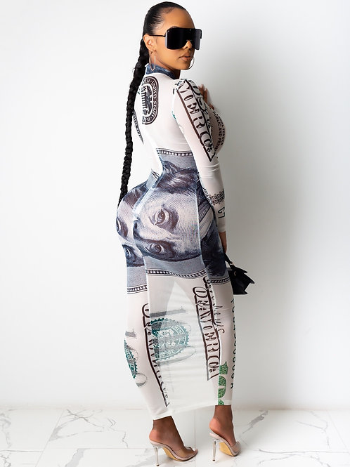Cash Money Dress