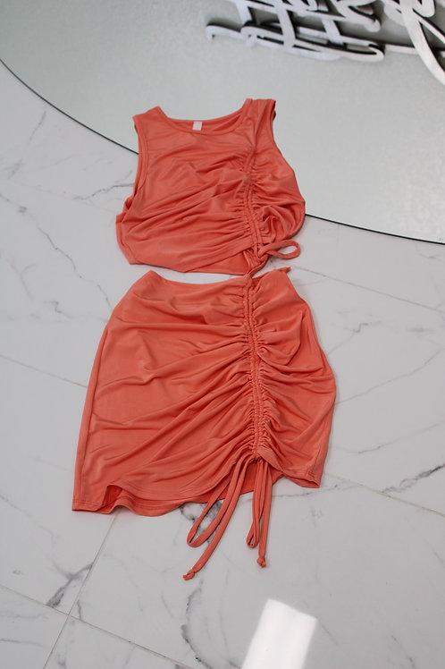 Slinky 2PC Skirt Set