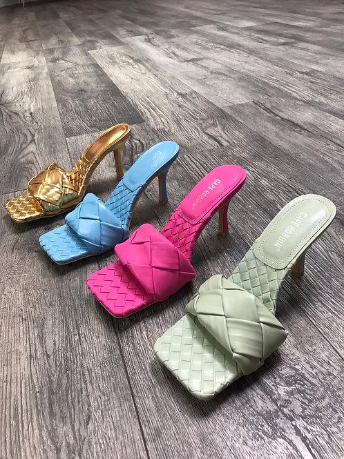 Braided Heel, Pastels