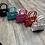 Thumbnail: Croc Print Patent Mini Bag