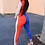 Thumbnail: Red/Blue Colorblock Jumper
