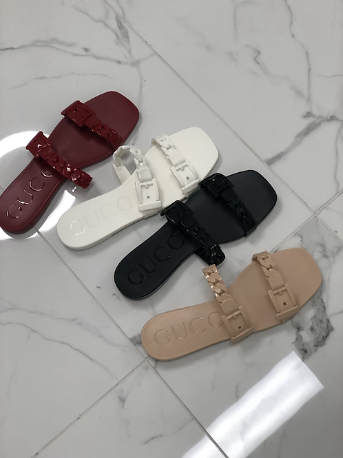 GG Two Strap Sandals