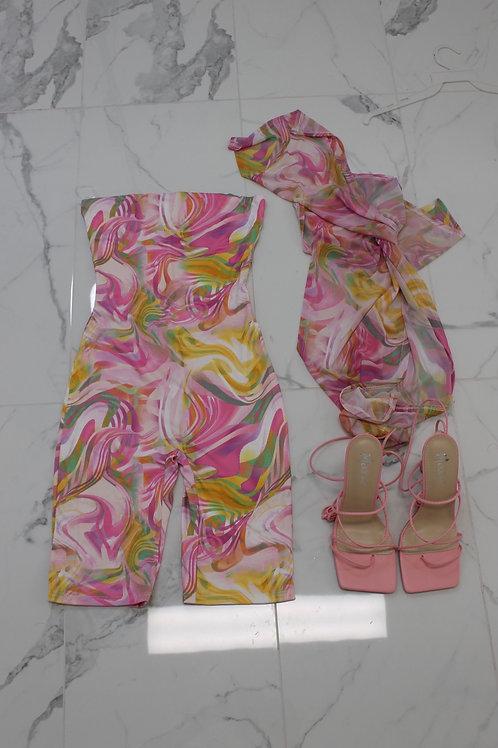 Cali Romper (Pink)