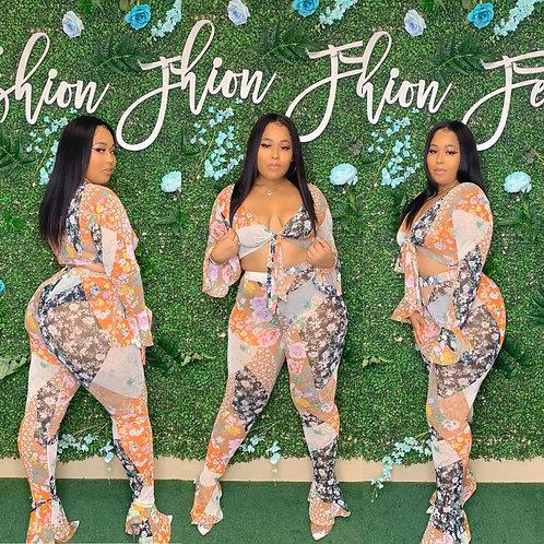 Miss Floral Set
