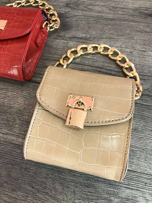 Lock & Key Mini Bag