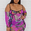 Thumbnail: Purple Dragon Mesh Dress