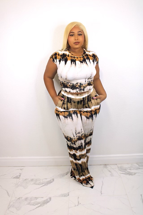 """""""Down to Earth"""" Wide Leg 2PC"""