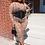 Thumbnail: Chloe Nude Mesh Jumpsuit