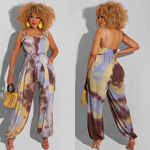 """""""Day on the Boardwalk"""" Jumpsuit"""
