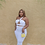 Thumbnail: Summer Affair Maxi Skirt Set (White)