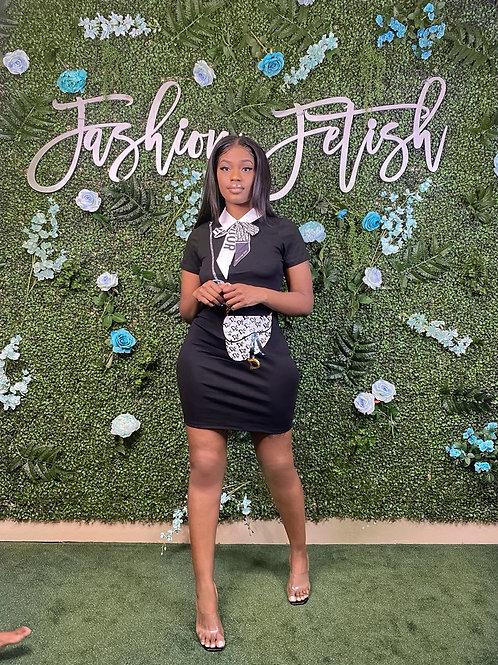 Dior Drip Dress