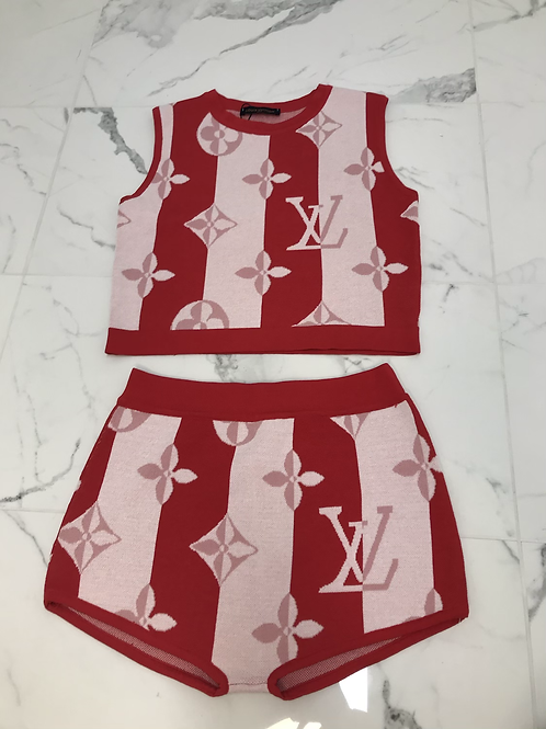 Pink/Red City Girl Set