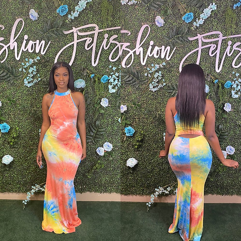 Dripped in Colors Maxi