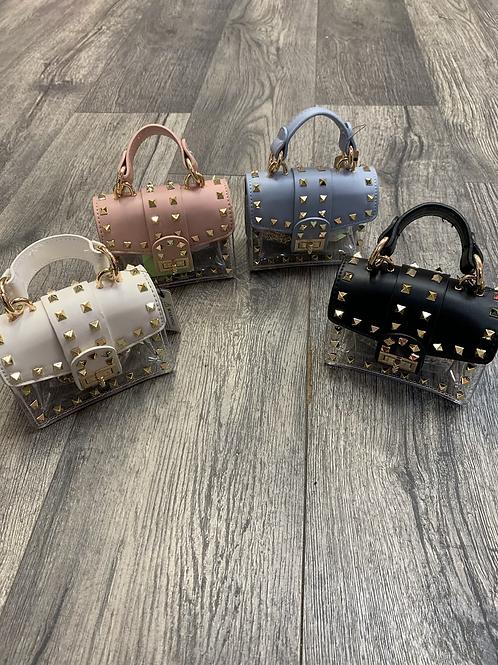 Gold Studded Mini Bag
