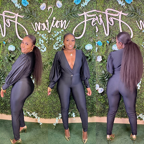 Sexy n Satin Bodysuit Set