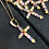 Thumbnail: Sterling Silver Studded Cross