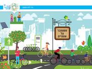 Vivre et se promener à Tel Aviv. C'est plus sympa en vélo !
