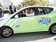 """""""Autotel"""" à Tel Aviv, 260 véhicules proposés aux citadins de Tel Aviv."""