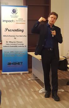 Lecture by Dr Wayne Visser, Fellow, Univ