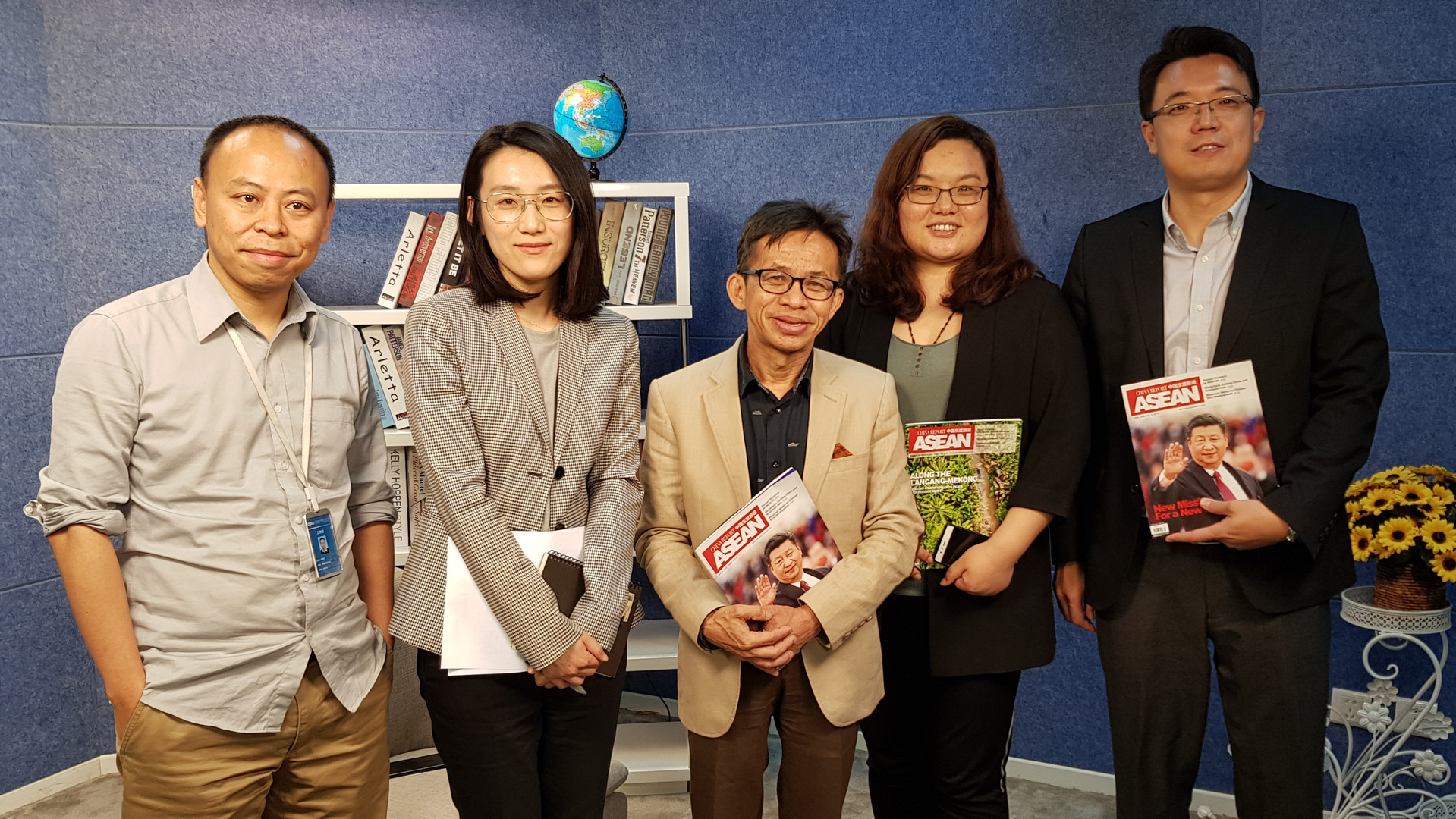 Intervied by China Report ASEAN Magazine