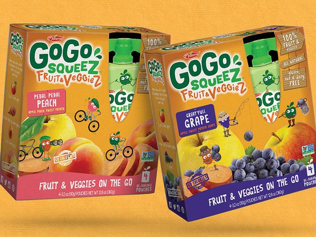 gogo squeez Fruit & veggieZ