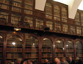 Library, École du Val-de-Grâce, Paris
